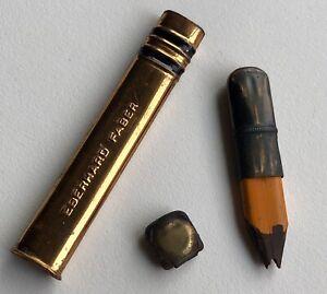 Vintage-Eberhard-Faber-Pocket-Pencil-Early-Circle-Clamp-Eraser-Heirloom-USA