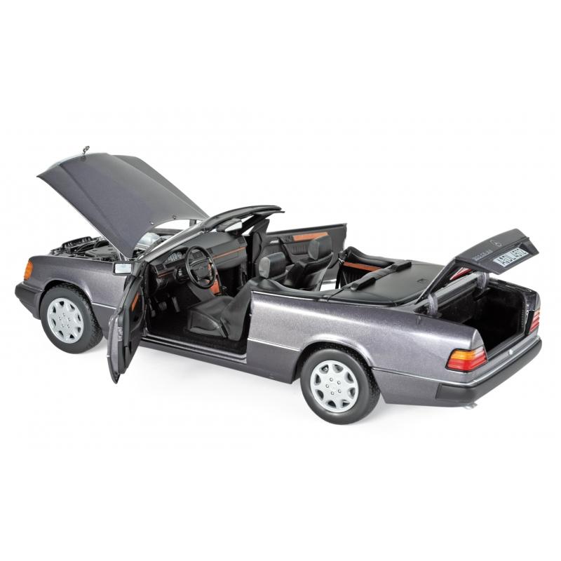 Mercedes 300 Ce 24 Cabriolet 1990 Violet Métal 1 18 Norev 183567
