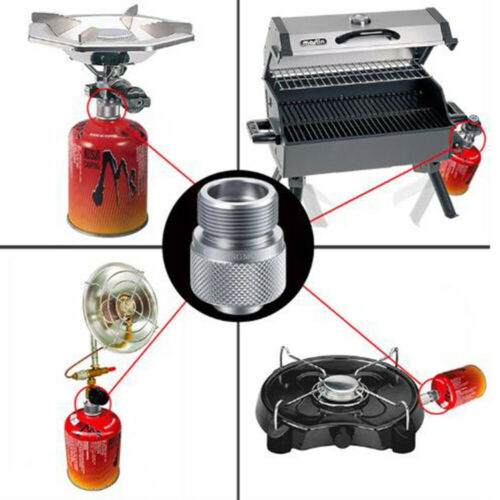 Camping Adapter Gas Stove Valve Canister 1L Propane Gas Tank Picnic Outdoor