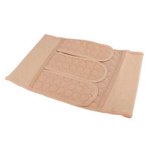 Women/'s Elastic Breathable Girdle Belt Belly Waist Shaper Abdominal Binder M
