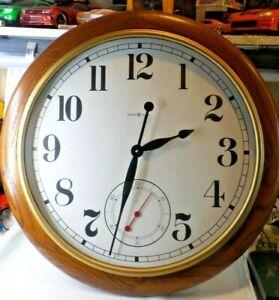 Howard-Miller-Oak-Quartz-Clock-622-757-Wall-Clock-Large-25