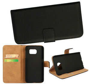 Wallet-With-Stand-Genuine-leather-Whole-cover-case-For-Samsung-Galaxy-Phone