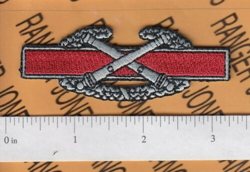 """US Army Combat Artillery Badge proposed 3/"""" qualification cloth patch c//e"""