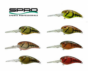 Spro-Mike-McClelland-RKCrawler-55-1-2-oz-New-Choice-of-Colors
