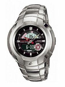 Casio-G-Shock-Retrograde-Cockpit-Series-Anadigi-Stainless-Black-Dial-Watch