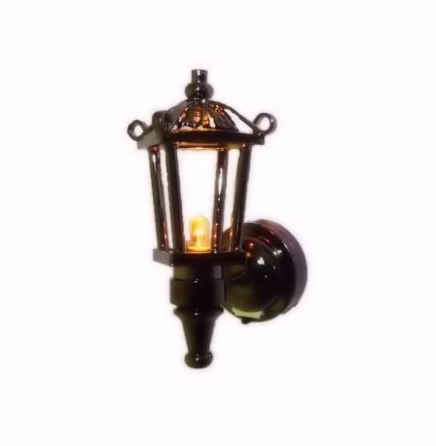 Dollhouse Lighting Coach Lamp Battery Amber Bulb 1:12 Doll House MIniatures