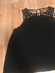 Torrid-Women-Sleevelessblack-Top-Blouse-Size-2x