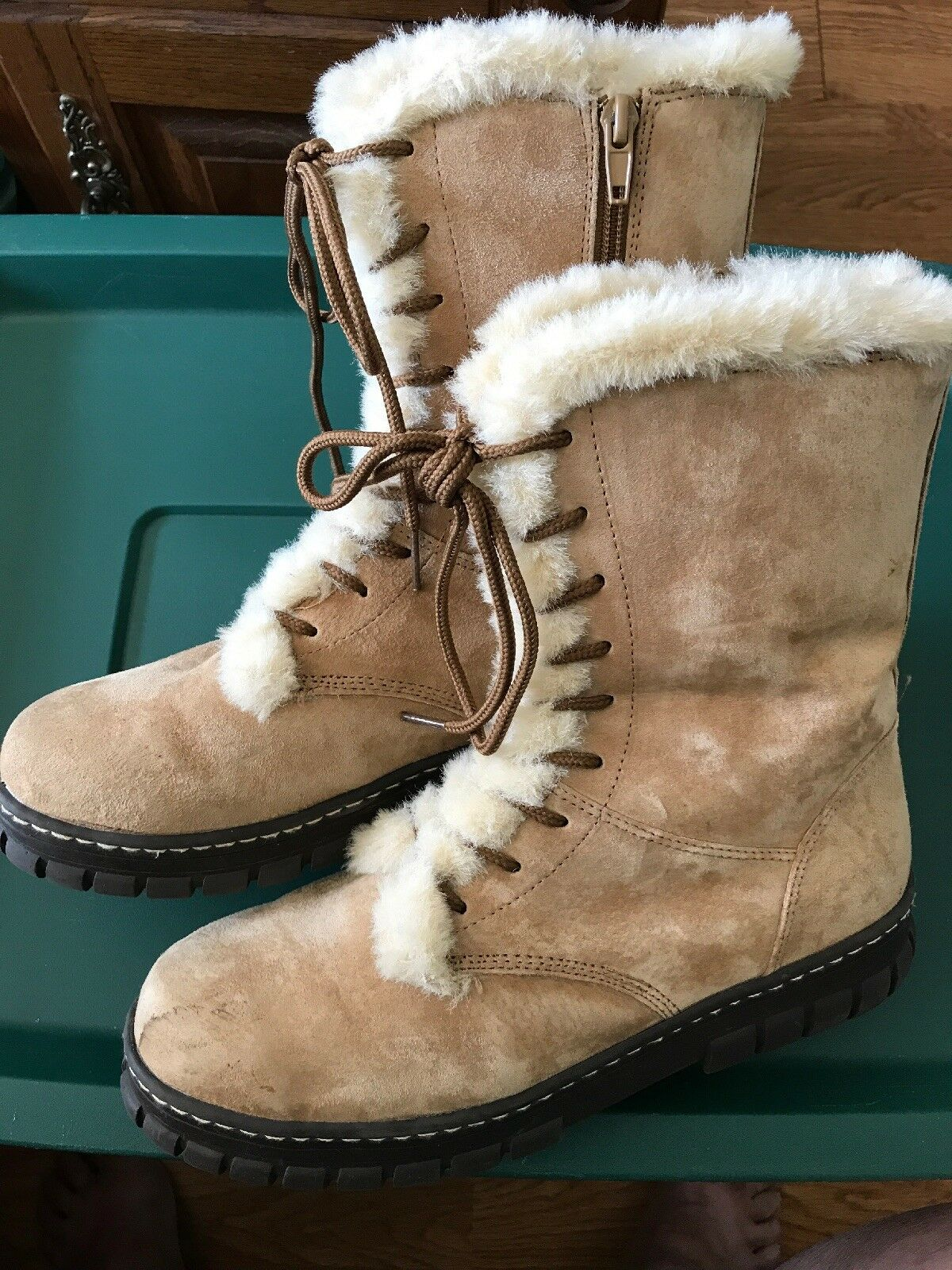 Natural Reflections Taille 9 Adorable lined Ankle bottes New