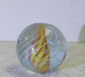 11566m-Vintage-German-Caged-Solid-Core-Swirl-Marble-85-Inches