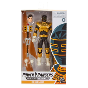 POWER Rangers Lightning ZEO ORO Hasbro NUOVO /& NUOVO IN SCATOLA SIGILLATA