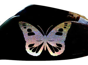 NEW-Butterfly-Wing-Mirror-Car-Stickers-Decorations-Glitter-Butterflies