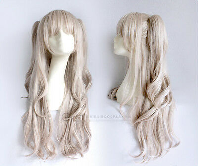 Charlotte Tomori Nao Cosplay Perücke wig zopf tails lang long