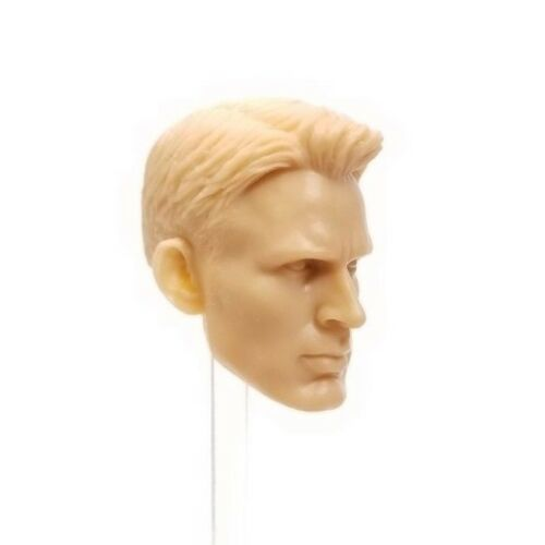 Head Only HS003 Mezco Custom CHRIS EVANS Captain America 1//12 HS Unpainted