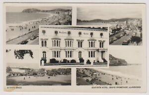 Wales-Carte-Postale-Seaforth-Hotel-Llandudno-Multivue-A550