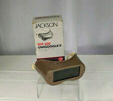 New Listingjackson Unigoggle Ii Wr 600 Welding Goggles Industrial Steampunk Cosplay Gear