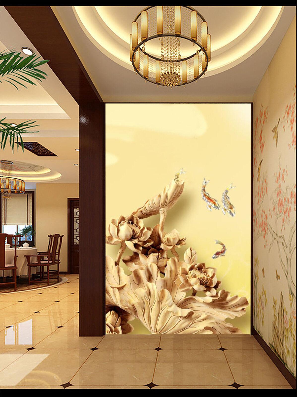 3D Flower Bird 75 Wallpaper Mural Wall Print Wall Wallpaper Murals US Carly