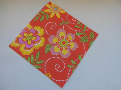Papierservietten von PAPSTAR 3-lagig 2 x Servietten Flora