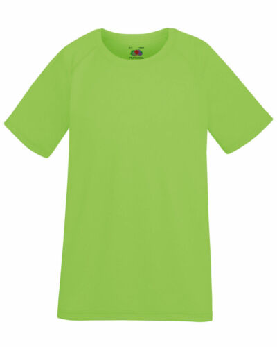 Fruit of the Loom Children/'s Performance Camiseta 9 Colores