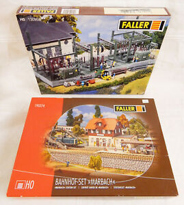 FALLER-BAHNHOF-MARBACH-190274-UMSPANNWERK-130958-Spur-H0