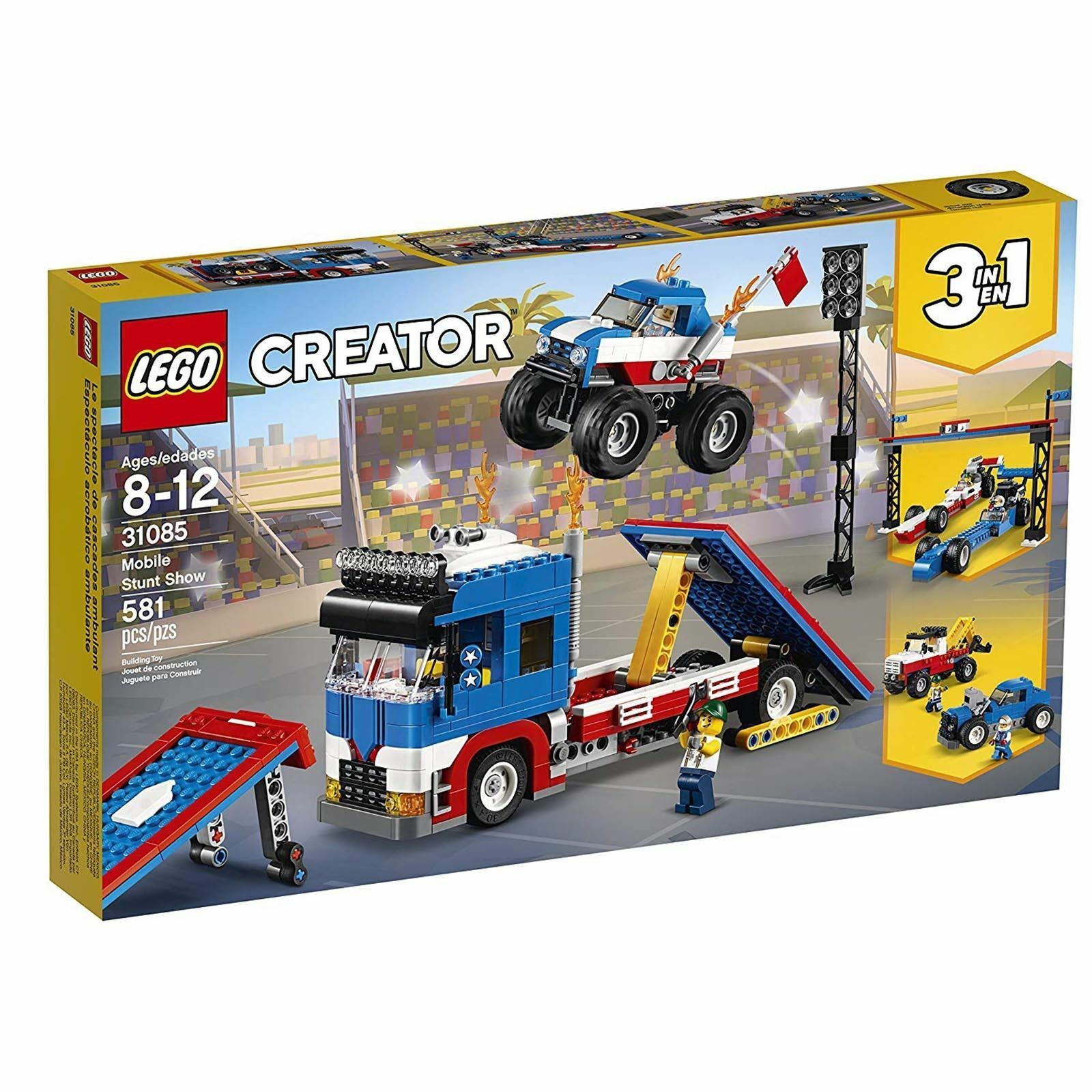 LEGO® Creator Mobile Stunt Show Building Set 31085 NEW Toys