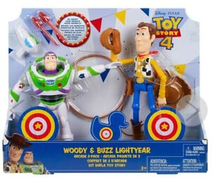 Toy-Story-4-Woody-amp-Buzz-Lightyear-Arcade-2-Pack-Disney-Pixar
