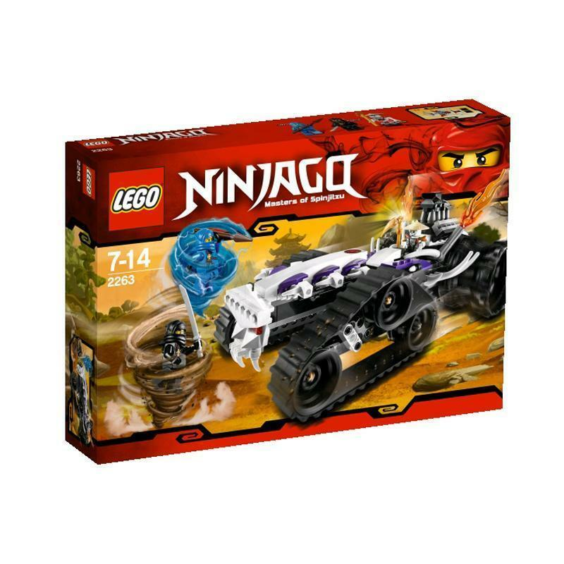 LEGO® NINJAGO 2263  Turbo Shrotder  Jay Cole Frakjaw NEU OVP NEW MISB