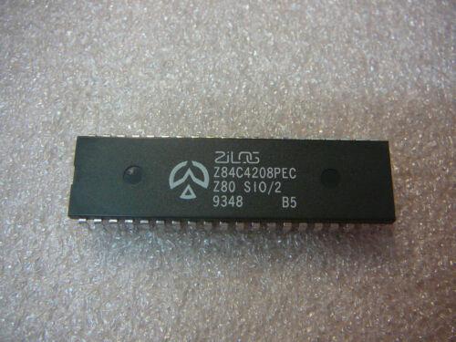 ZILOG Z84C4208PEC I//O Controller Interface IC 8MHz CMOS Z80 SIO//2 40-DIP Qty.1