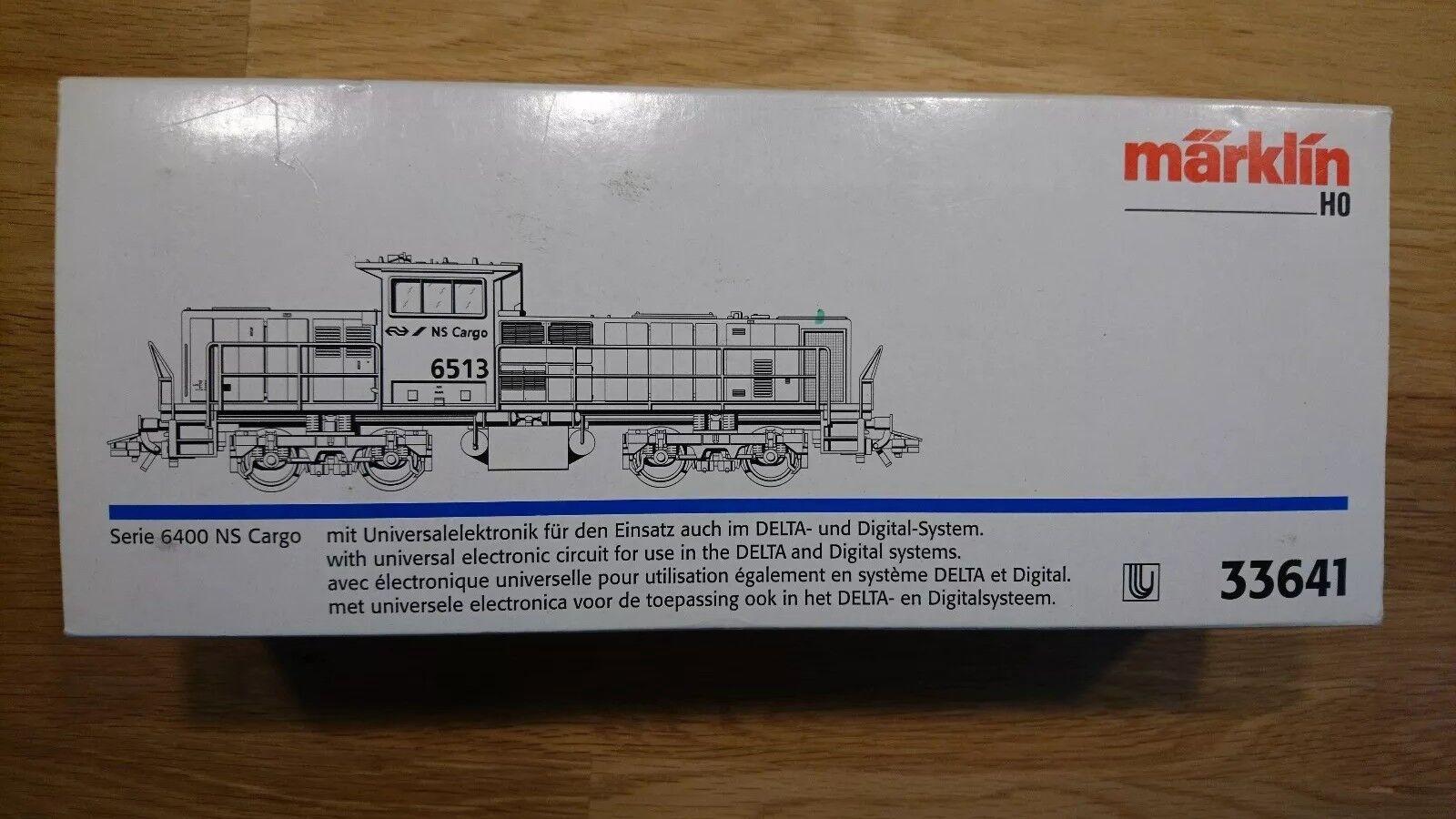 Märklin Diesellok 33641 H0 Serie 6400 NS Cargo 6513  | Verrückter Preis