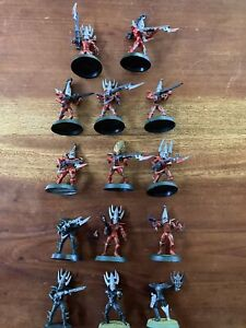 Warhammer 40k Dark Eldar Drukhari Army OOP Kabalite Warriors Bits / Project Lot
