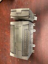 Allen Bradley 1762 L40bwar Micro Logix 1200 Plc With 1762 Ob16 Output