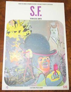 S.F. #3 Ryan Cecil Smith A Koyama Press Book New 2013