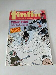 1987-Tintin-L-039-hebdomadaire-des-Super-Jeunes-23-Magazine-Code-FS