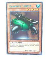 YuGiOh TCG Catapult Turtle DL18-EN001 (BLUE) Duelist League Card Rare DL