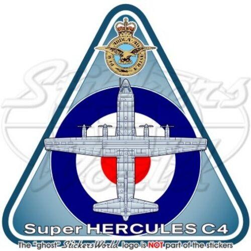 HERCULES C4 RAF Lockheed C-130J-30 Aeronautica Militare Britannica UK Adesivo