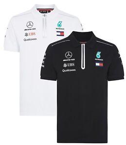 Mercedes AMG Petronas Tommy 2018 Men s F1 Team Polo Shirt FREE ... de616f47bf2