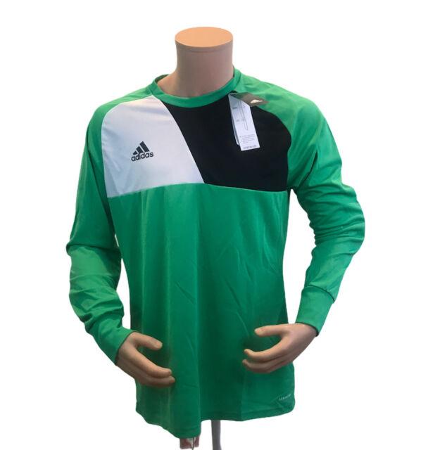 Mens adidas Assita 17 Aeroready Az5400 Soccer Goalkeeper Jersey ...