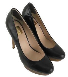 Dolce-Vita-Womens-Ladies-Black-Brown-Classic-Pumps-Platform-Heels-Shoes-Size-6-5