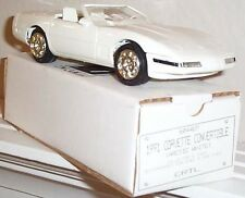 GM 1991 CORVETTE ARTIC WHITE CONVERTIBLE PROMOTIONAL MODEL NEW IN THE BOX