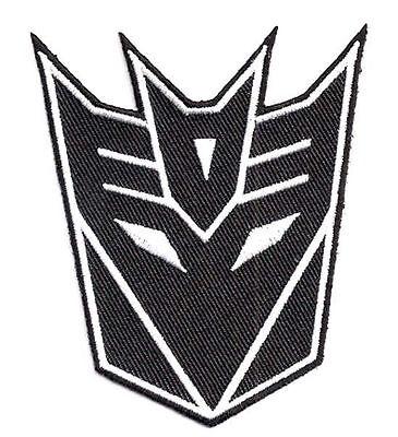 Clever Transformers - Movie Black Mask - Patch Uniform Aufnäher Zum Aufbügeln Neu Hitze Und Durst Lindern.