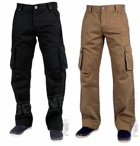 New-Mens-Enzo-EZ219-EZ220-Cargo-Army-Combat-Trouser-Pants-in-2-Colours-30-to-48