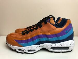 newest 9a858 361b9 Image is loading Nike-Air-Max-95-Premium-Monarch-Trainers-Brown-