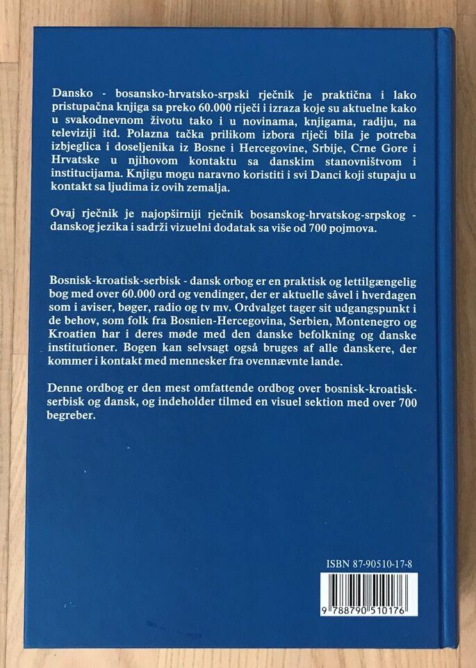 serbokroatisk dansk ordbog