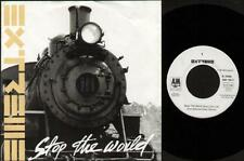 "EXTREME Stop The World  7"" Ps, German Issue, Radio Edit B/W Christmas Time Again"