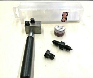 Hand-Held-Brake-Pipe-Flare-Outil-principalement-utilise-in-situ-3-16-034-BRITISH-MADE-UK