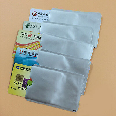 12pcs RFID Protector Safety Secure Credit Card Travel Holder Blocking Cases Hot