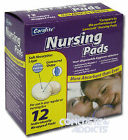 Parents Select / Coralite Box Of 12 Individually Wrapped Absorbant Nursing Pads