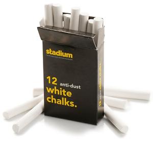 Drakes pride Stadium bowling bowls box of 12 anti dust white chalks