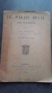 El Palacio Ducal de Nancy Chr.pfister 5 Phototypies 1908 Nancy C Leblond ABE