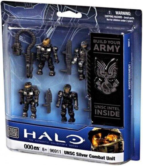 Mega Bloks Halo UNSC Silber Combat Unit Set  96911