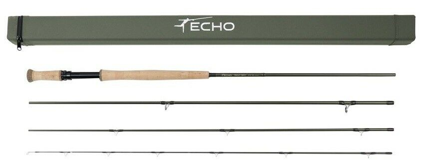 Echo Trout Spey Rod 4110-4, - 11' - 4wt - 4pc - NEW - Free Line